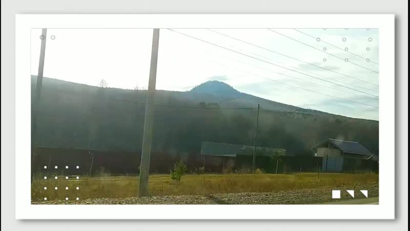 Siberia 14 10 2018 Krasnoyarsk Каратаг Черная сопка Вулкан