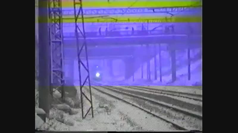 ЭР200 и ЧС2Т около пл. Петровско-разумовское.