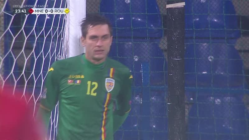 Лига Наций 2018-19 / Лига C / Группа 4 / 6-й тур / Черногория - Румыния / 1 тайм