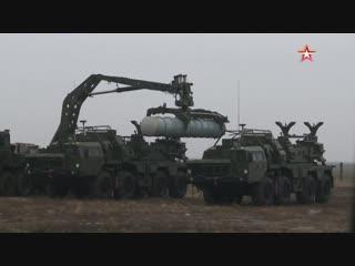 Зенитный «#Триумф»: лучшие кадры боевых стрельб #С400 под Астраханью #КапустинЯр
