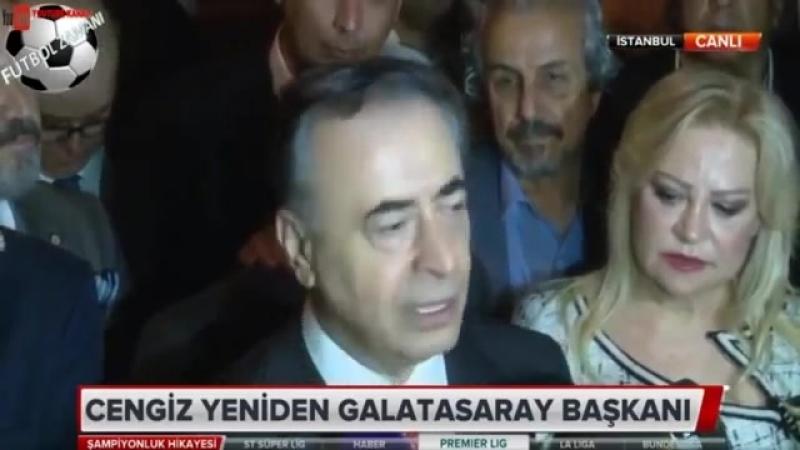 Mustafa Cengiz -Secimi Kazandık Artık Şampiyonluğu Kutlayalım- 26 Mayıs 2018