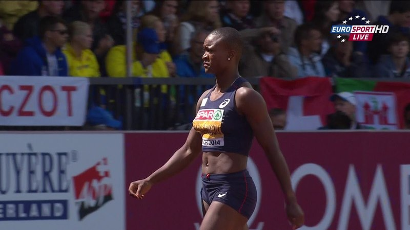 Antoinette Nana Djimou Heptathlon Long Jump 22nd European Athletics Championships Zurich 2014