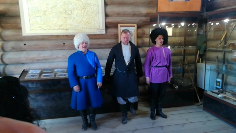 Архитектурно-этнографический музей «Тальцы», казачья песня