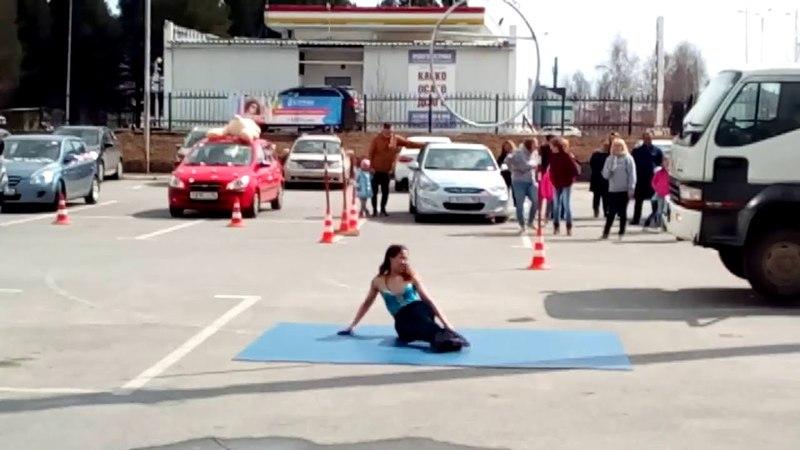 Мы-КРУТЫШКИ на конкурсе Автоледи 2018 г.Ханты-Мансийск