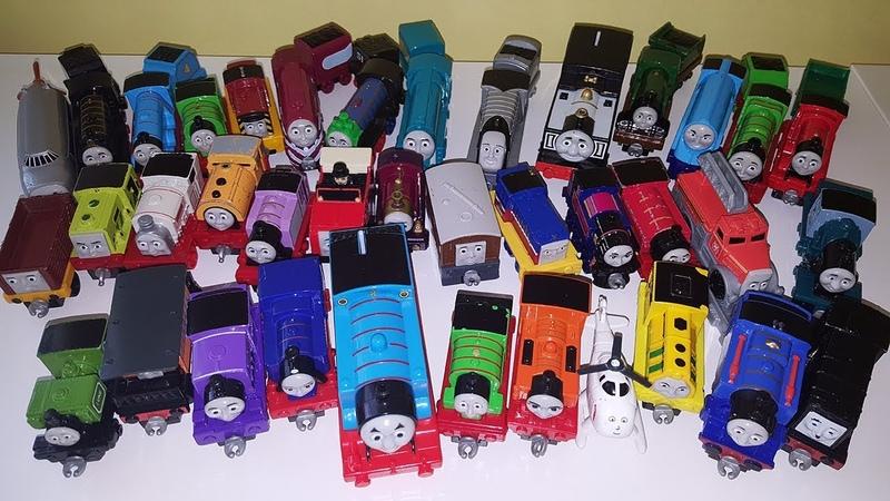 Thomas and his friends Giant collection Introducing Tomas ve Arkadaşları Томас и его друзья