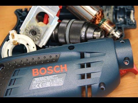 Bosch Professional Дрель Бош GSB 1600 RE Короче говоря обзор Дрели