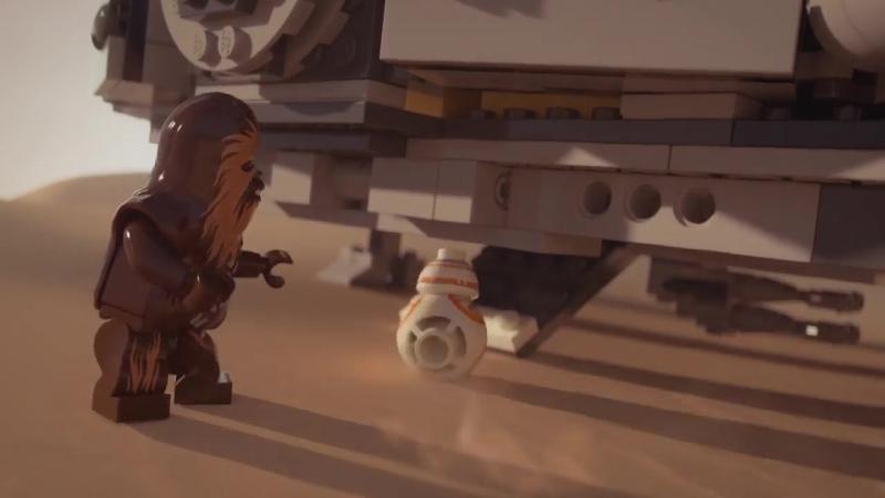 Millennium Falcon LEGO Star Wars 75105 Product Animation