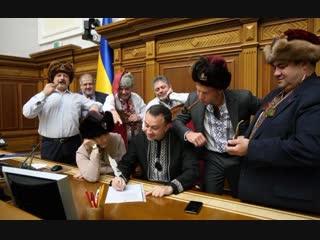 «Ти, президент і чорт московський»_ у Раді написали «листа» Путіну у відповідь на санкції