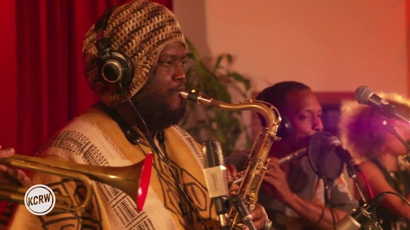 Kamasi Washington performing ''Street Fighter Mas live on KCRW