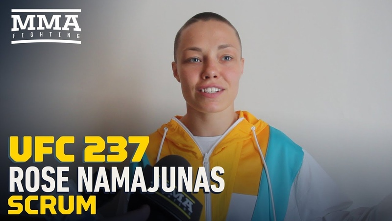 UFC 237 Rose Namajunas Plans To Be The 'More Dynamic Well Rounded Fighter' Against Jessica Andrade