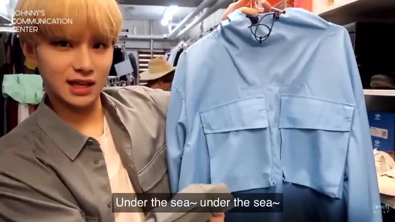 Jungwoo the little mermaid 2019