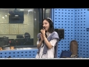 "180920 Hyomin - MANGO (song cut) @ Radio SBS Power FM ""Choi Yung Hwa's power time"""