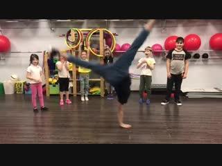 Breakdance c Амиром Закировым