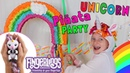 RAINBOW UNICORN PARTY!! Gigi Fingerlings Surprise!