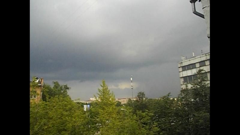 Гроза 15.07.2018 ЮАО Москва ZornPunker