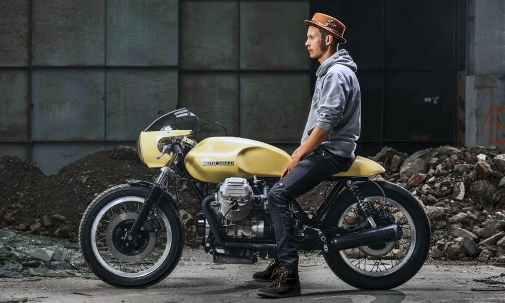 Gas & Oil Motorcycles: кафе рейсер Moto Guzzi 12 Royal
