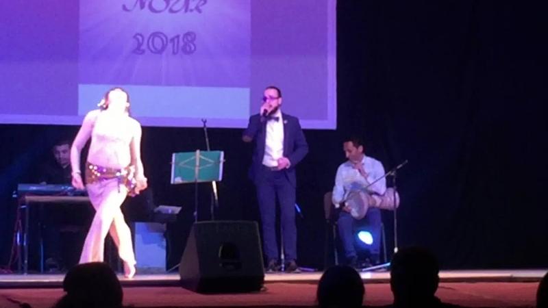 Екатерина Ржанникова. Raks el Nour 2018. Baladi Band. Teht El Shibak