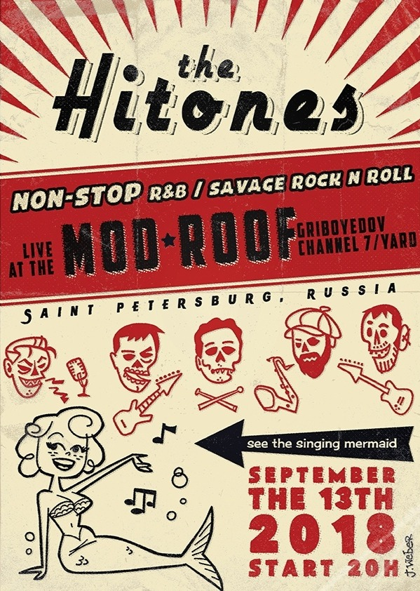 13.09 The Hi-TONeS в клубе MOD!!!