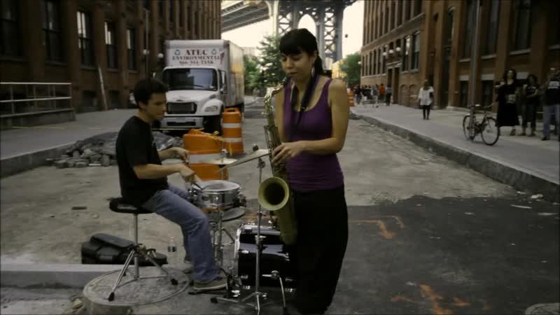 Bridges. A short film about Melissa Aldana/ Directed by Ivan Cordoba