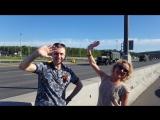 Группа Мишель по пути в любимый город Чехов. 9 мая 2018 г.