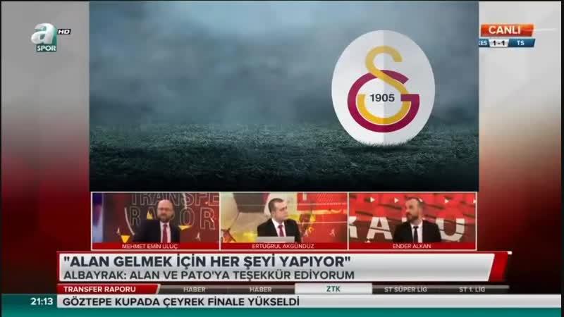 Galatasaray Transfer Raporu - Abdurrahim Albayrakın Açıklamaları - M.Emin Uluç, Ender Alkan