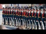 Плац-концерт роты почетного караула Западного военного округа 9 мая 2019 года