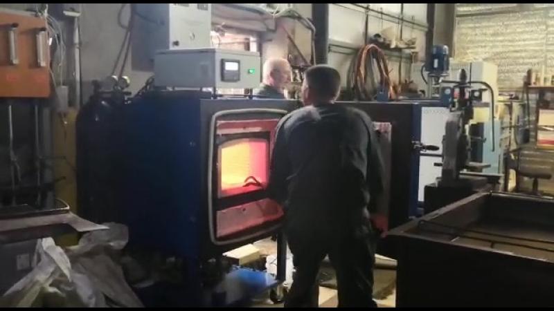 Камерная печь с газоплотным корпусом СНО(З)-4011