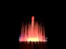 Поющие фонтаны в Олимпийском парке. Сочи