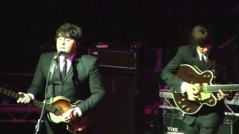 The Cavern Club Beatles - Beatleweek 2014, Royal Court Theatre, Liverpool