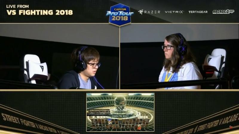 BBR VS FIGHTING 2018 SFV AE - CTG BST FUDO vs VITALITY ADTERMINAL