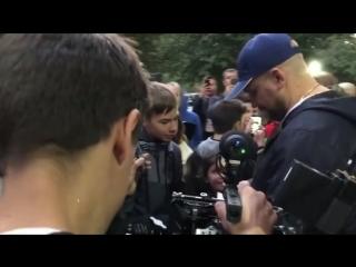 Василий Вакуленко в родном Ростове. 28 сентября.