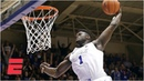 Zion Williamson stars in Duke's win vs Clemson including 360 dunk College Basketball Highlights