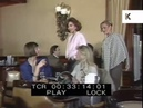 Wealthy 1980s Women in Hotel Bar