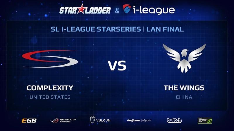 Wings vs сoL StarSeries 13 LAN Final Day 1
