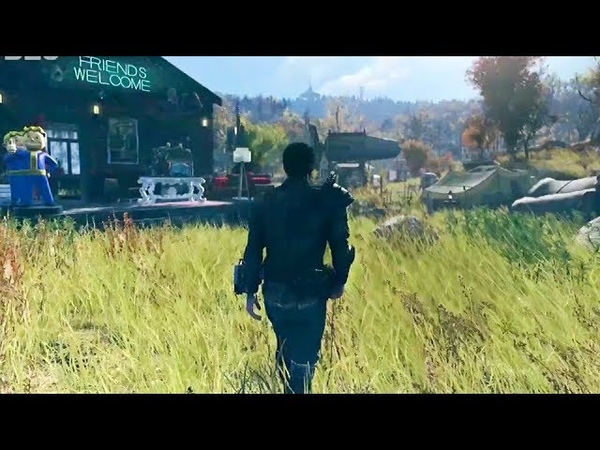 Fallout 76 - E3 2018 10 Minutes of Gameplay Compilation (Bethesda Conference)