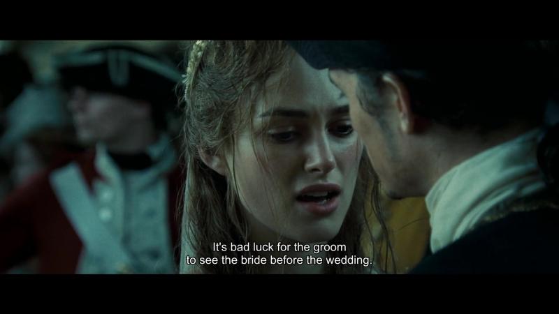 It's bad luck for the groom to see the bride before the wedding./ Не к добру невесте с женихом до свадьбы видеться.