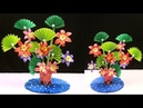 How to Make Paper Flowers Paper Flowers Diy Paper Flower Plastic Bottle Flower Vase at Home