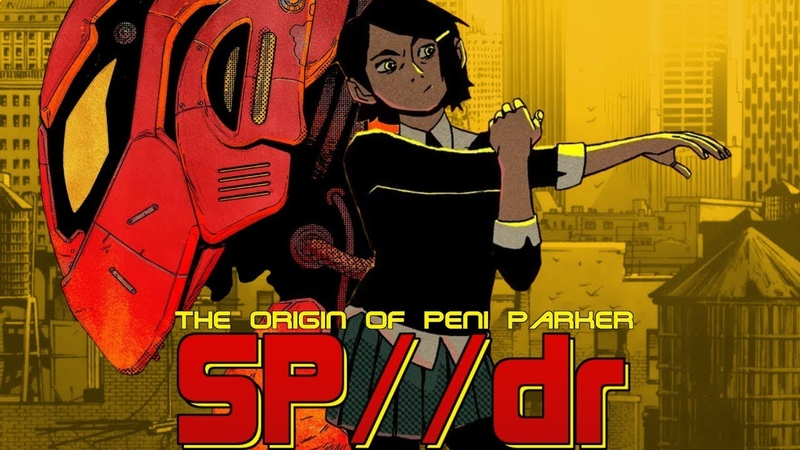 Evangelion Spider-Man Anime Cameos | The Origin of Peni Parker SPdr