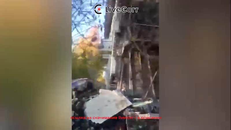 Стена жилого дома обрушилась в Нижегородской области