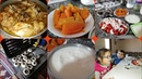 Mantar yemeği soba üzerinde mantar kızarttık tavuk kızartması günlük vlog