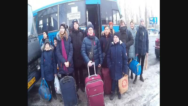 Наша карпатская снежная сказка 2019. Часть 11.