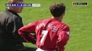 Cristiano Ronaldo First match for Manchester United 2003/4
