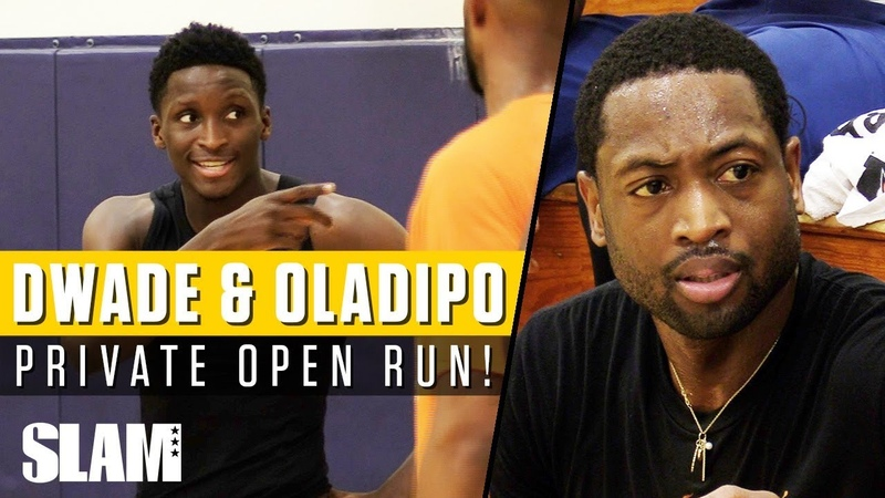 Dwyane Wade Victor Oladipo WENT AT IT in Private NBA Run with RemyWorkouts 🔥