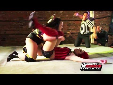 [Free Match] Jordynne Grace v. Skylar | Women's Wrestling Revolution TFT♀️ (SHIMMER SHINE RISE WSU)