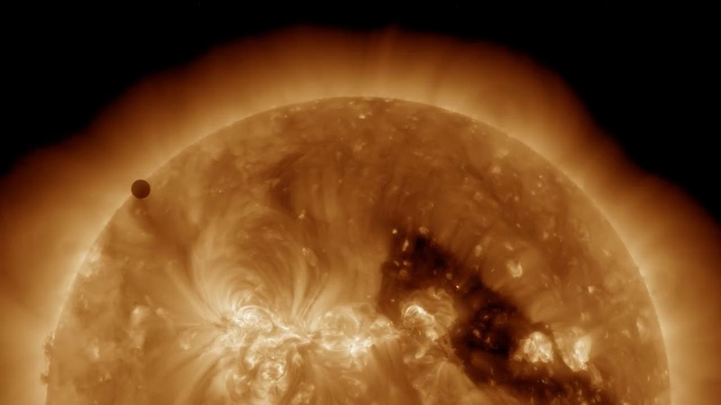 NASA SDOs Ultra high Definition View of 2012 Venus Transit.