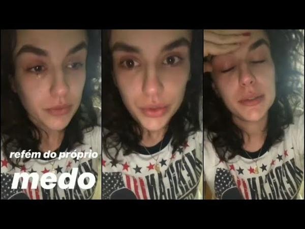 Kéfera chora com resultado das eleições e diz que foi ameaçada por ir contra Bolsonaro