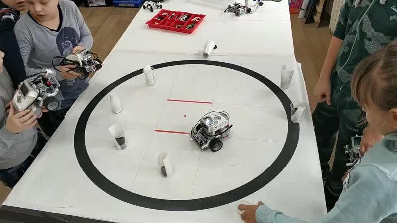 Кегельринг Lego Mindstorms EV3 Слобода ДОСААФ