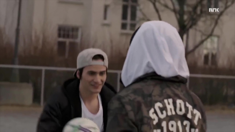 [Skam] Sana and Yousef basketball. Скам / Сана и Юсуф