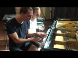 Martin Kohlstedt, Игорь Хабаров - импровизация в Санкт-Петербурге