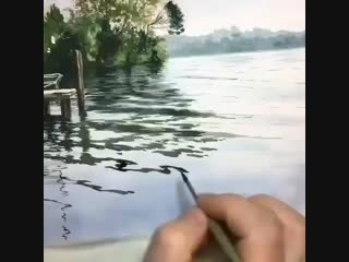 Блики на воде